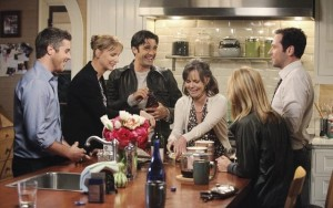 DAVE ANNABLE, RACHEL GRIFFITHS, GILLES MARINI, SALLY FIELD, CALISTA FLOCKHART, MATTHEW RHYS