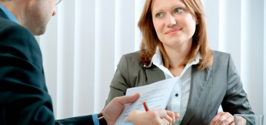 woman-on-interview-with-resume