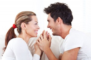 couple smiling and talking 300x199 People up in arms over viral article on marriage advice – your thoughts?