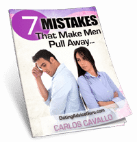 7 Fatal Mistakes Ebook 1 He Says He's Not Ready For A Relationship: Now What?