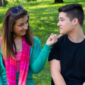 couple flirting 3 Reasons Why You Cant Stop Thinking About Him