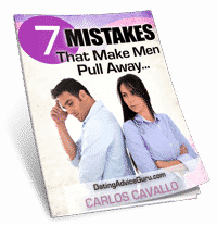 7 Fatal Mistakes Ebook He Says He's Not Ready For A Relationship: Now What?