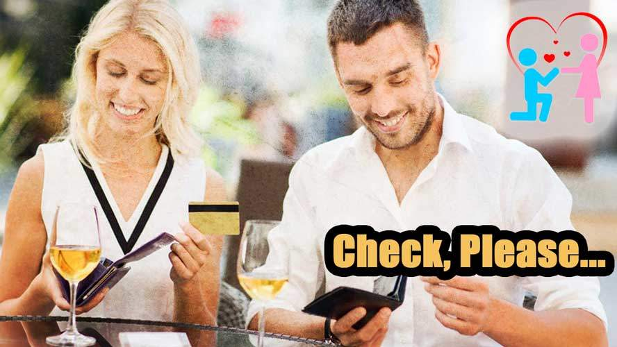 advice who pays on the first date Who Pays on a First Date? The REAL Answer   and WHY!